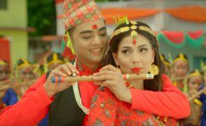 Rato Tika Nidhar Ma Lyrics   Rato Tika Nidhar Ma Movie Title Song   Ankit Sharma, Samragyee RL Shah
