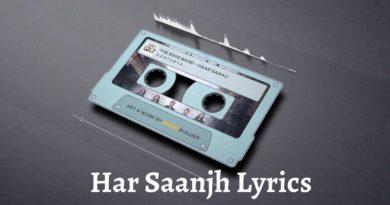 Har Saanjh Lyrics - The Edge Band The Edge Band Songs Lyrics, Chords, Tabs